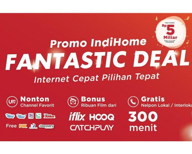 IndiHome: Paket Funtastic Deal